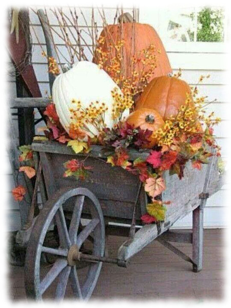 Decoración de Halloween para Carretilla de Exteriores