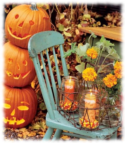 Decoración de Halloween para Silla de Jardín