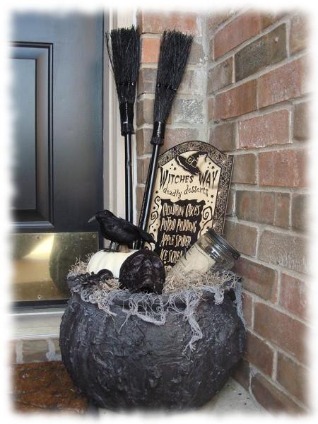 Decoración de Halloween Olla para Exteriores
