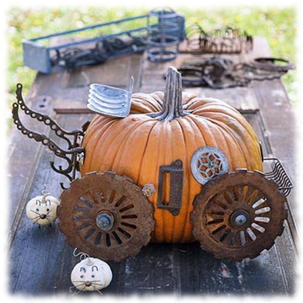 Decoración de Halloween Calabaza para Exteriores