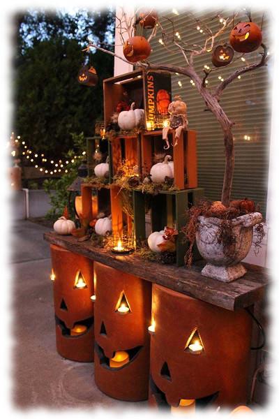 Decoración de Halloween Composición para Exteriores