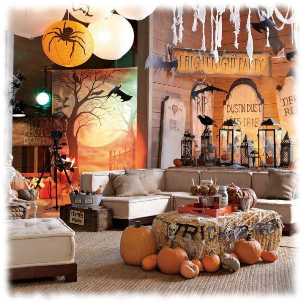 Decoración de Halloween Composición para Salón