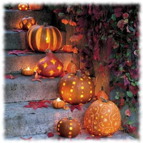 Decoración de Halloween Escalera para Exteriores