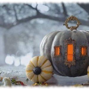 Decoración de Halloween Calabaza para Jardín